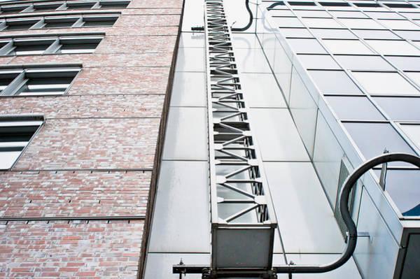 Multi-storey Wall Art - Photograph - Access Ladder by Tom Gowanlock
