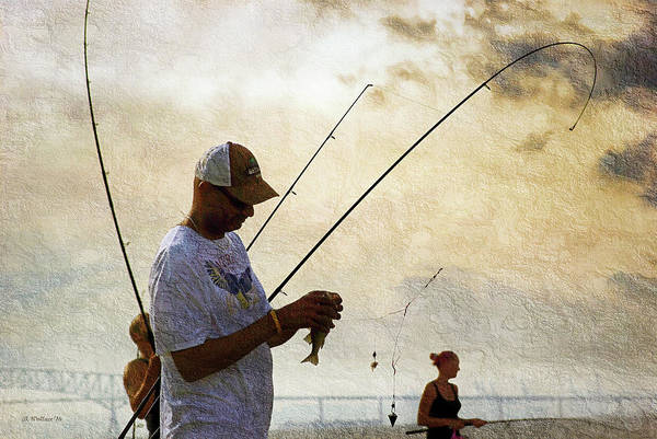Fishing Pole Digital Art - According To The Poles - Fishing Is Great by Brian Wallace