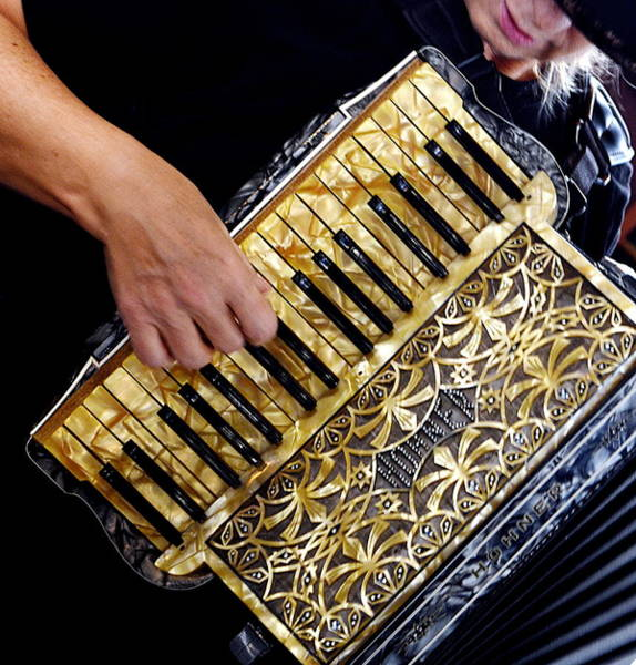 Wall Art - Photograph - Accordion Player by Andy Klamar