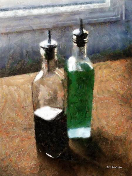 Painting - Aceto E Olio by RC DeWinter