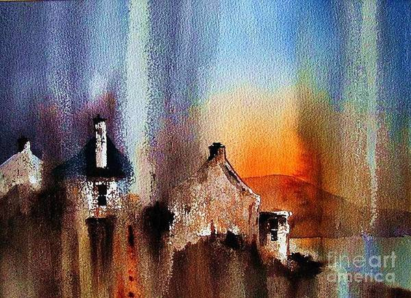 Painting - Achill Arora by Val Byrne
