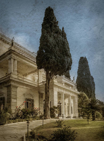 Photograph - Achilleion, Corfu, Greece - Achilleion Palace by Mark Forte
