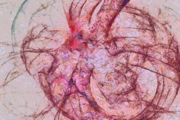 Lurksart Painting - Achromatolysis Content  Id 16097-174800-76740 by S Lurk
