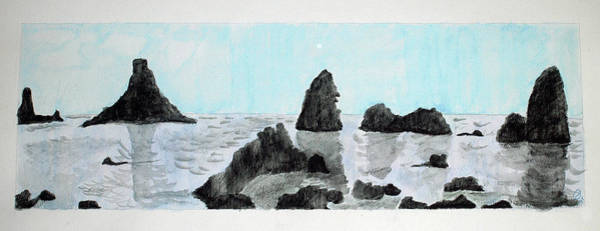 Painting - Aci Trezza by Mary Capriole
