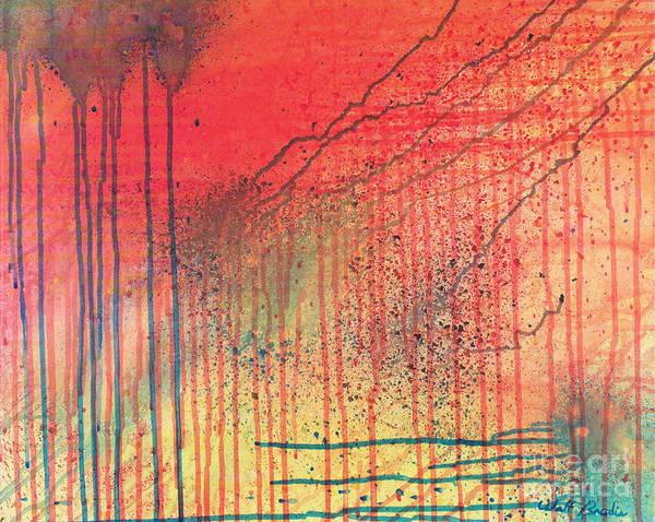 Painting - Acid Rain by Walt Brodis