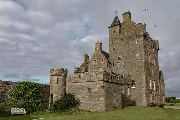 Photograph - Ackergill Tower 1119 by Teresa Wilson