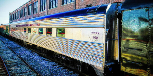 Photograph - Moultrie Dining Car by Dale R Carlson