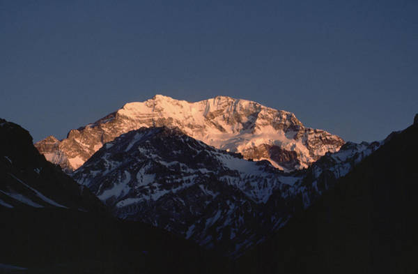 Wall Art - Photograph - Aconcagua Is 22,834 Feet 6,960 Meters by James P. Blair