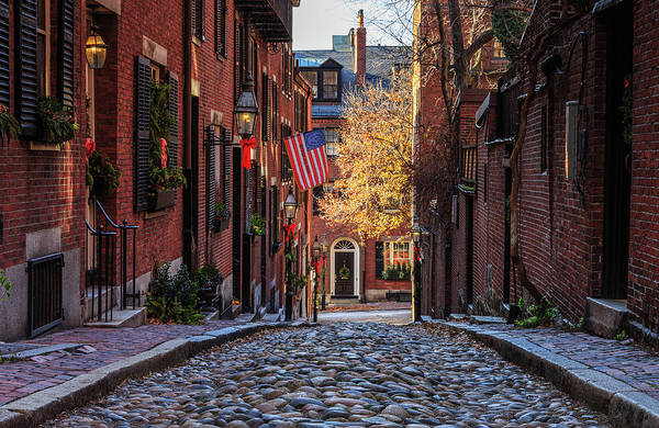 Photograph - Acorn St. by Rob Davies