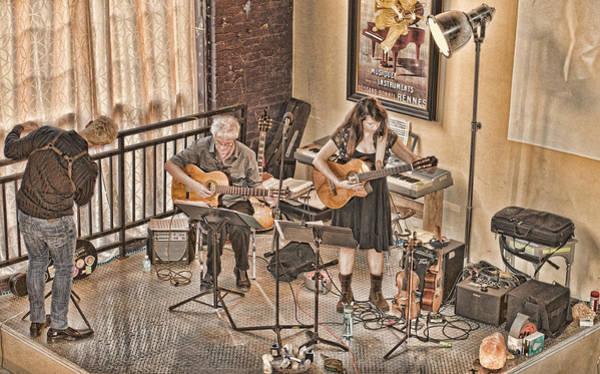 Acoustic Jazz Art Print