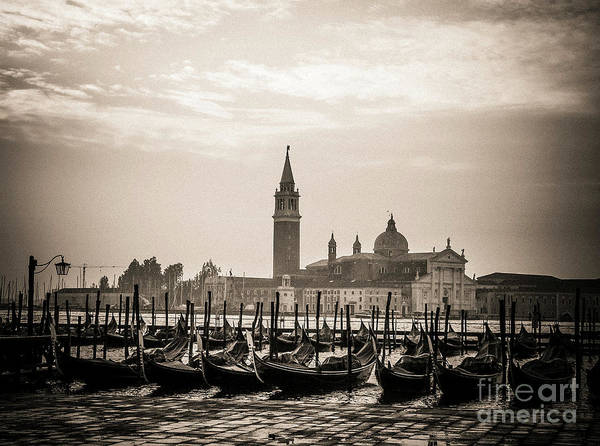 Wall Art - Photograph - Acqua Alta. Flood . Venice. Italy by Bernard Jaubert