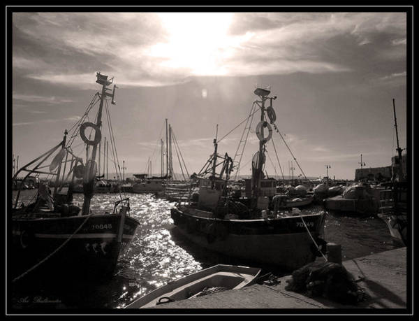 Acre  Fishing Port Art Print