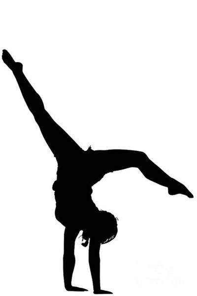 Digital Art - Acrobatic Girl by Benny Marty