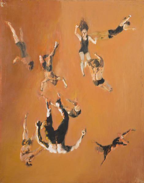 Trapeze Painting - Chaos by Nicholas Stedman