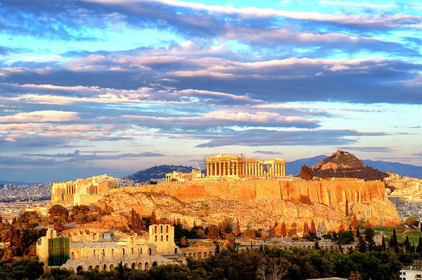 Photograph - Acropolis Of Athens by Fabrizio Troiani