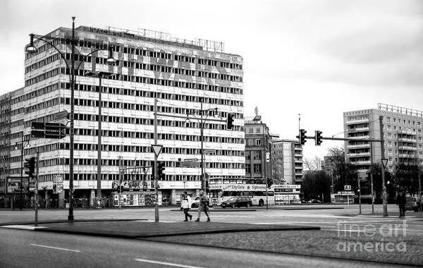Wall Art - Photograph - Across Alexander Street In Berlin by John Rizzuto