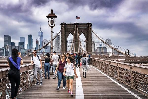 Photograph - Across Brooklyn Bridge by Framing Places
