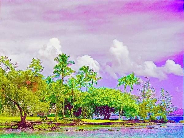 Photograph - Across Reeds Bay Hilo Aloha by Joalene Young