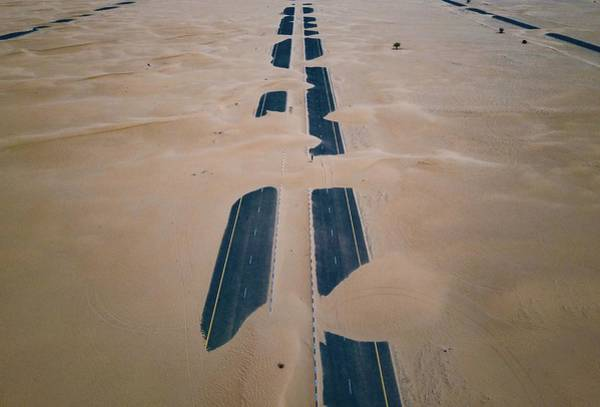 Photograph - Across Sahara by Johannes Schwaerzler