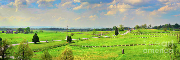 Wall Art - Photograph - Across The Battlefield - Gettysburg by Paul W Faust - Impressions of Light