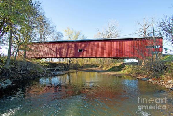 Rockville Photograph - Across The Creek by Steve Gass