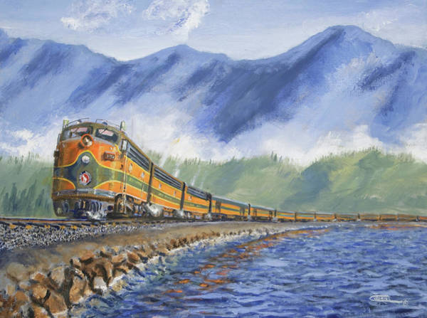 Wall Art - Painting - Across The Great Northwest by Christopher Jenkins