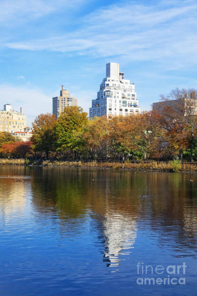 Wall Art - Photograph - Across The Pond - New York City by Mary Machare