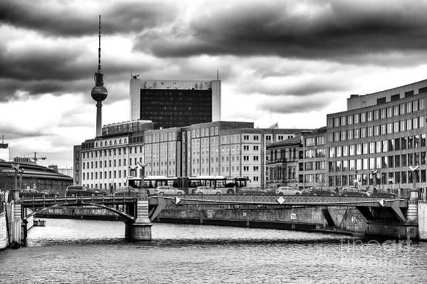Wall Art - Photograph - Across The River Spree In Berlin by John Rizzuto