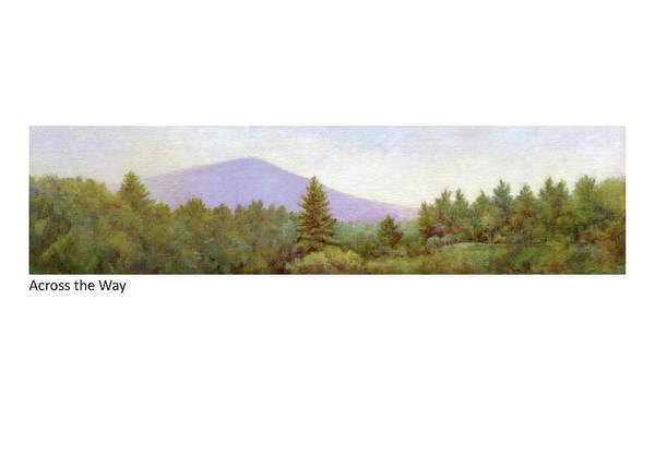 Painting - Across The Way by Betsy Derrick