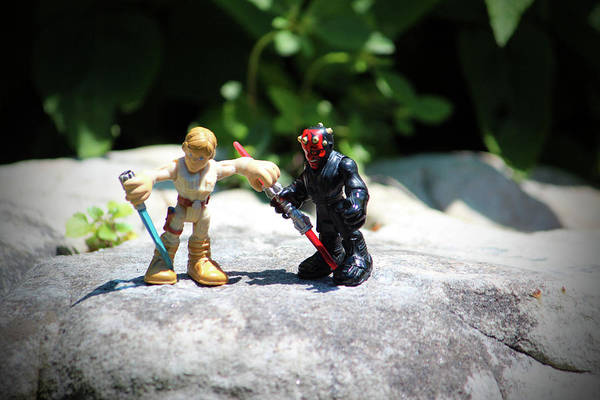 Darkside Photograph - Action Figures by Cynthia Guinn