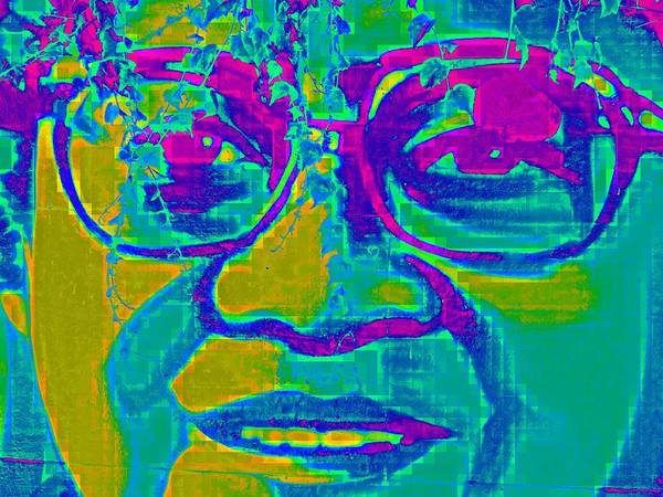 Famous People Digital Art - Activist by Randall Weidner