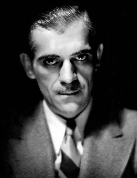 Wall Art - Photograph - Actor Boris Karloff by Daniel Hagerman
