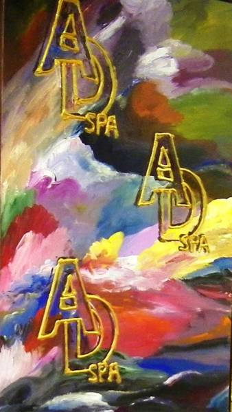 Painting - Ad Spa by Ray Khalife