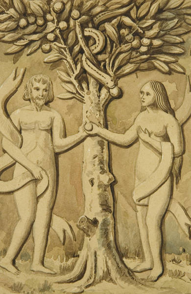 Adam And Eve Wall Art - Relief - Adam And Eve by Joesph Manning