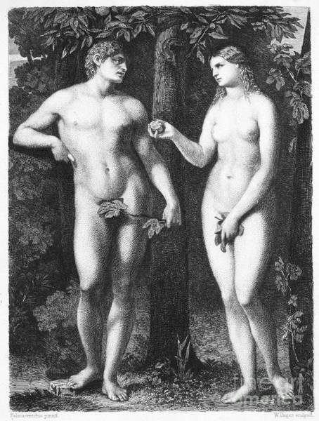 Photograph - Adam & Eve by Granger