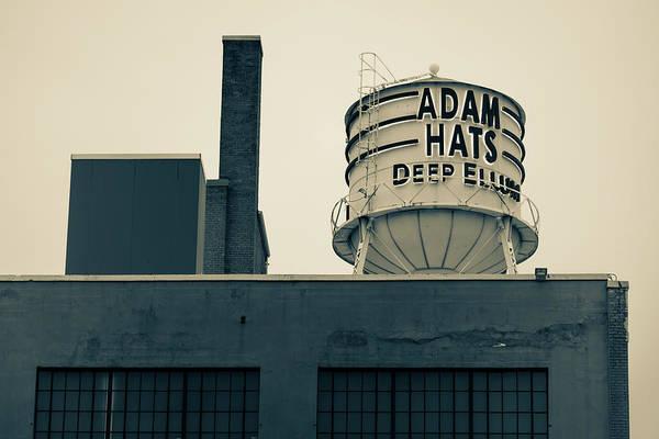 Photograph - Adam Hats - Deep Ellum Architecture - Dallas Sepia Edition by Gregory Ballos