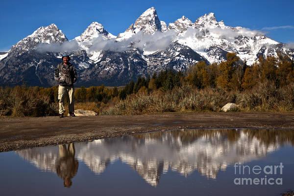 Photograph - Adam Jewell At Grand Teton by Adam Jewell
