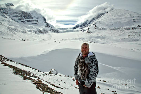 Photograph - Adam Jewell At The Columbia Icefields by Adam Jewell