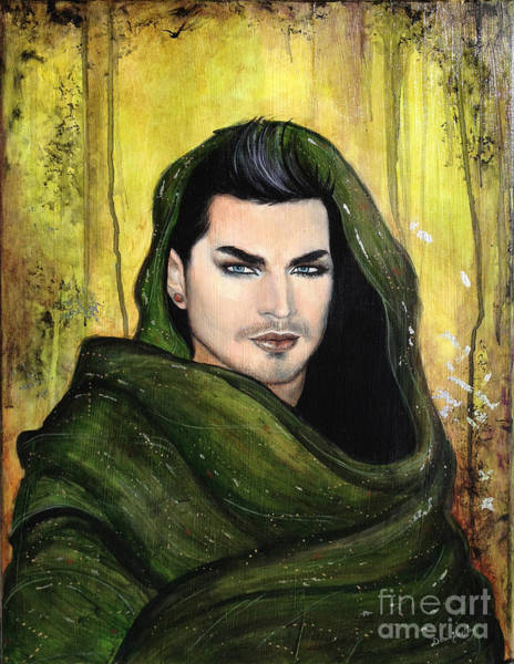 Wall Art - Painting - Adam Lambert by Dori Hartley