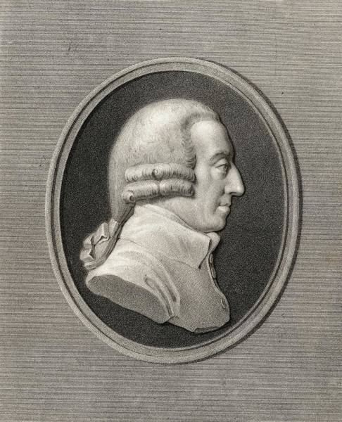 Wall Art - Drawing - Adam Smith, 1723-1790. English Social by Vintage Design Pics
