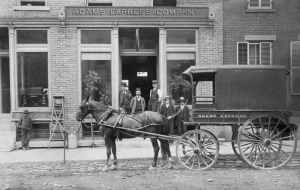 Wall Art - Photograph - Adams Express Company by Underwood Archives