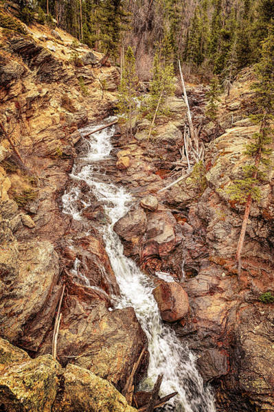 Photograph - Adams Falls by Susan Rissi Tregoning