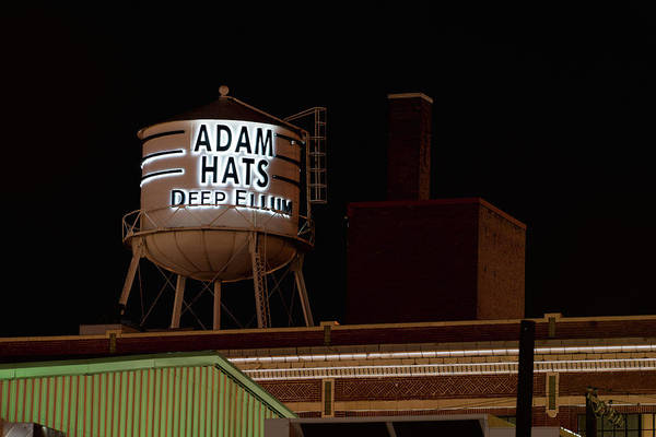 Photograph - Adams Hats Dallas by Rospotte Photography