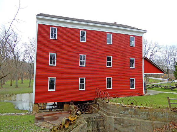 Photograph - Adams Mills East by Tina M Wenger