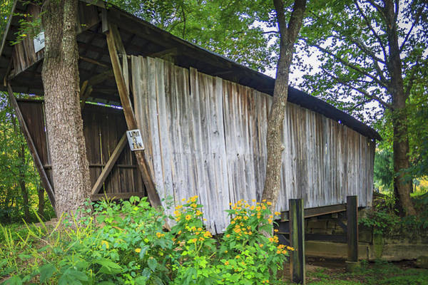 Photograph - Adams/san Toy Covered Bridge  by Jack R Perry