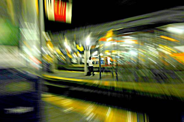 Station To Station Photograph - Addiction by Diana Angstadt