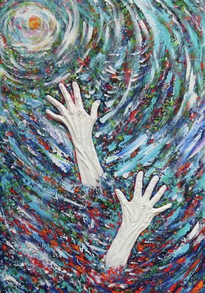 Serenity Prayer Digital Art - Addiction Postcard Series 01 by Julie Turner