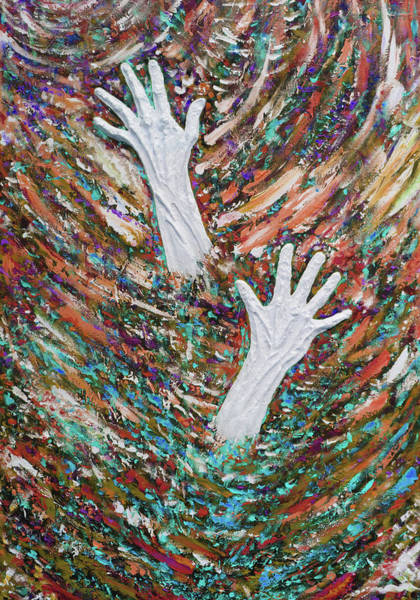 Serenity Prayer Digital Art - Addiction Postcard Series 03 by Julie Turner