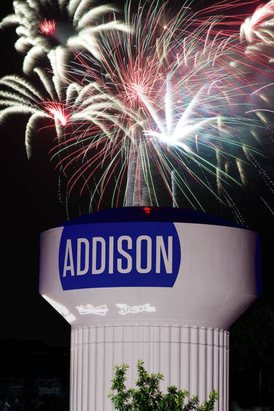 Photograph - Addison Kaboom Town Fourth 071018 by Rospotte Photography