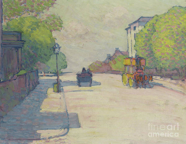 Wall Art - Painting - Adelaide Road In Sunlight, 1910 by Robert Polhill Bevan
